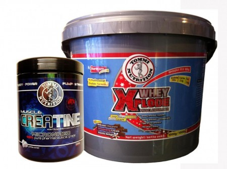 Whey Xplode 3kg+ Muscle Creatine 500g