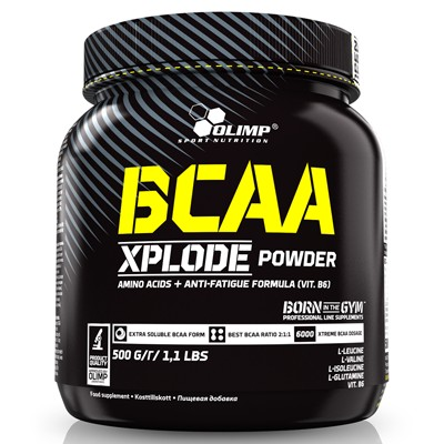 BCAA Xplode 500g Fruit Punch