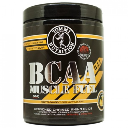 BCAA Muscle fuel Tropical Orange 400g