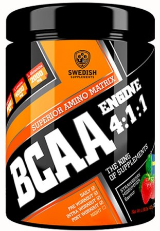 BCAA Engine 4:1:1 400g Strawberry