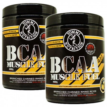 2 x BCAA Muscle Fuel 400g Tropical Orange