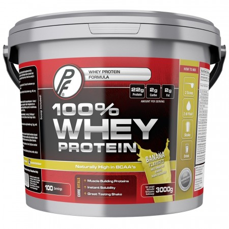 100 % Whey Protein 3000g Smooth Banana