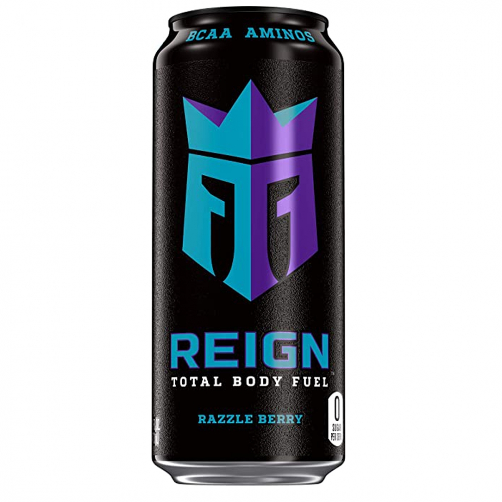 REIGN BCAA DRINK 500ml Razzle Berry | Tommi Nutrition - Kosttilskudd til  alle