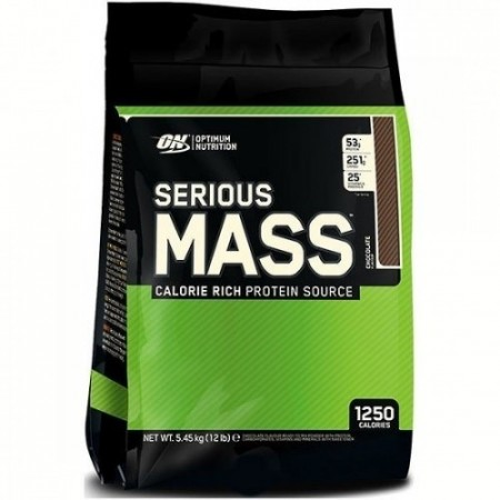 Optimum Nutrition Serious Mass 5,4kg Sjokolade