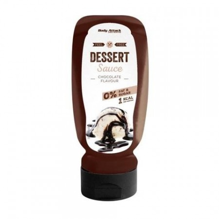 Body Attack Dessert Sauce Chocolate 320ml