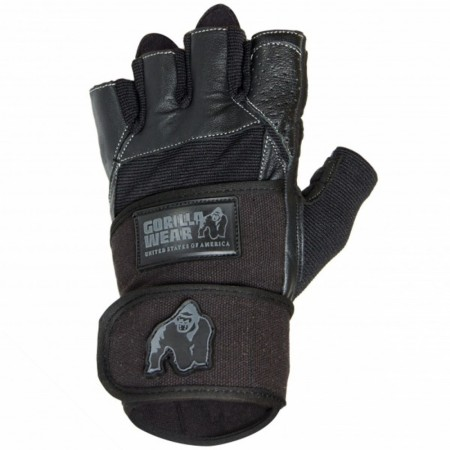 Dallas Wrist Wrap Gloves Black