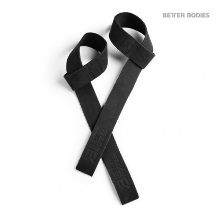 Better Bodies Leather Wraps Black One Size