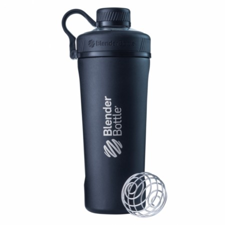 BLENDERBOTTLE RADIAN INSULATED STAINLESS STEEL, BLACK, 770ML