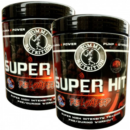 2 x Super Hit Reloaded 600g velg smak
