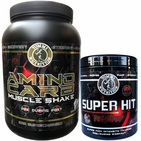 The Magic Muscle Shake Aminocarb + Super Hit Reloaded