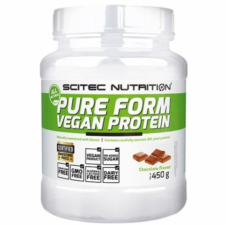 Pure Form Vegan Protein Chocolate - 450g