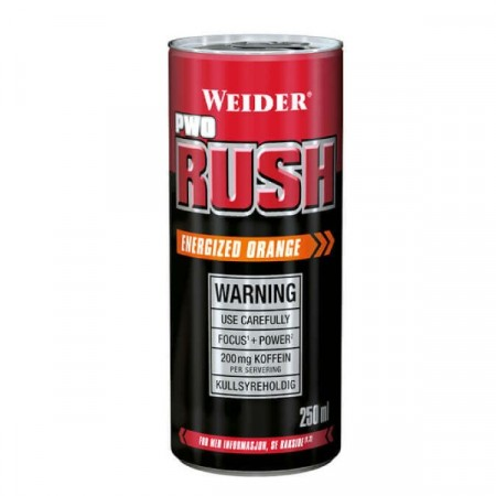 Weider – Rush PWO 250ml Orange