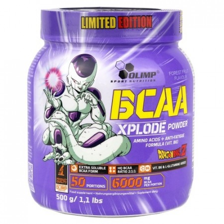 BCAA XPLODE POWDER 500g Limited Edition Dragon Ball - Forest Fruit