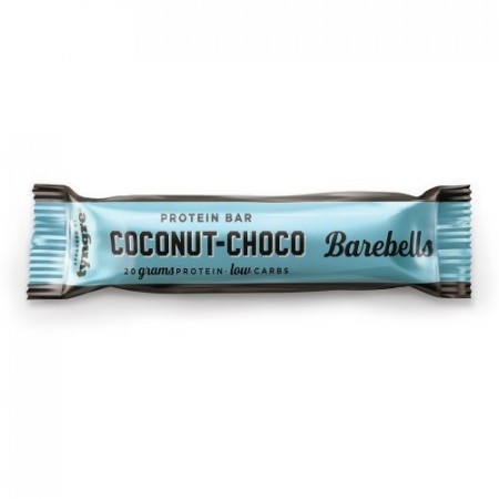 BARBELLS PROTEIN BAR 1 STK COCONUT- CHOCOLATE