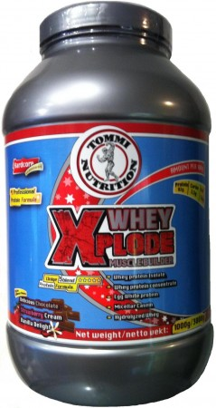 Whey Xplode 1000g Strawberry