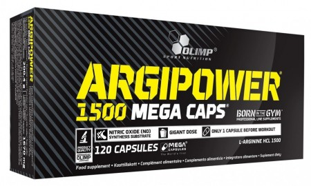Argi Power 1500 Mega Caps 120 kapsler