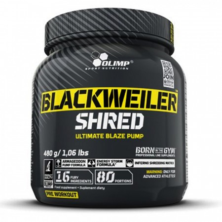 BlackWeiler Shred 480g Exotic Orange