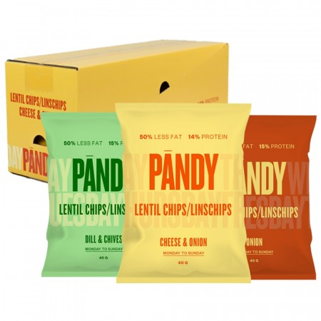 PROTEIN CHIPS PANDY - 40G