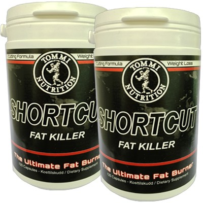 2 X Shortcut Fat Killer 120 kapsler