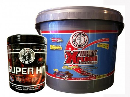 Muscle Power Pack: Whey Xplode & Hit