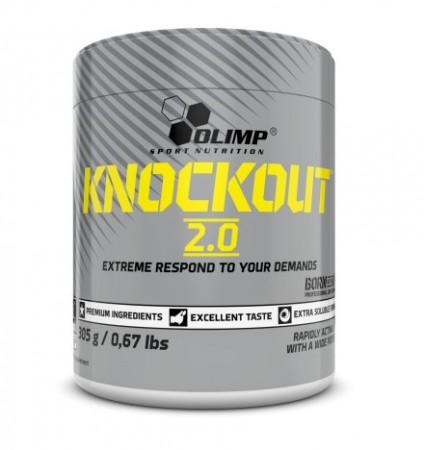 Knockout 2.0 - Preworkout Citrus Punch 305g Olimp