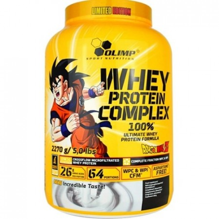 100% Whey Protein COMPLEX ® 2,3kg Limited Edition Dragon Ball