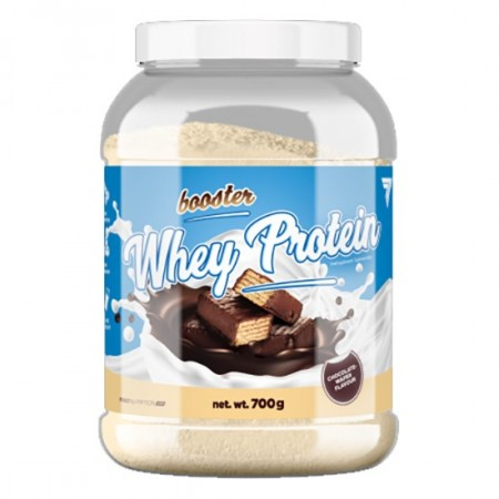 Booster Whey Protein - 700g Chocolate- Wafer Trec Nutrition