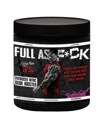 Full As F*CK Blue Raspberry 5% Nutrition - 387g