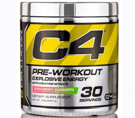 C4 Cellucor Strawberry Margarita 195g