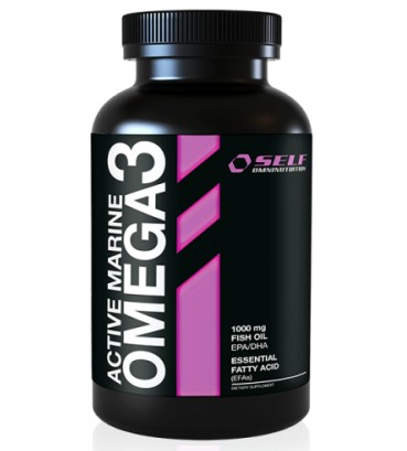 Self Active Marine Omega 3 - 120 kapsler