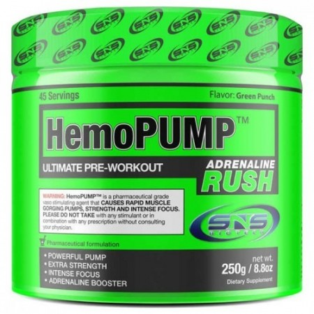 HemoPump Adrenaline Rush 250g Green Punch