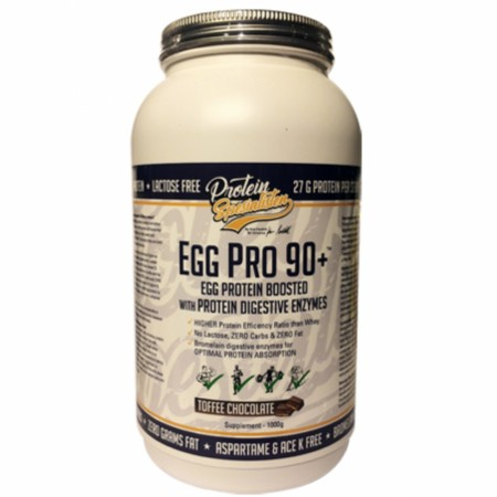 EGG PRO 90+ TOFFEE CHOCOLATE - 1KG
