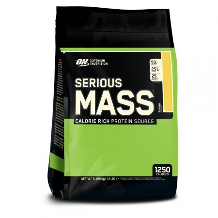 Optimum Nutrition Serious Mass 5,4kg Vanilje