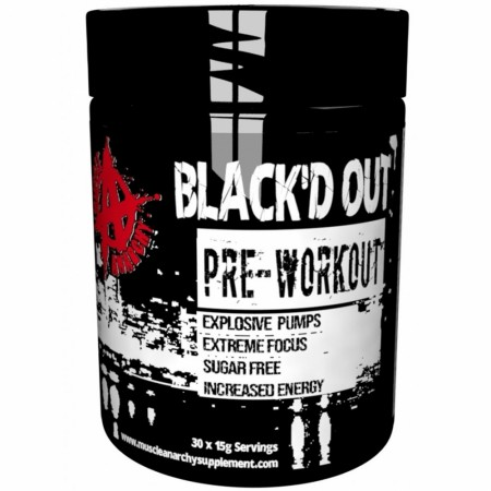BLACK`D OUT 450g, Muscle Anarchy