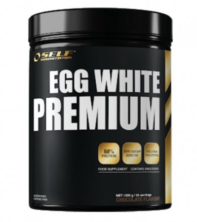 Egg Protein Jordbær 1000g Self