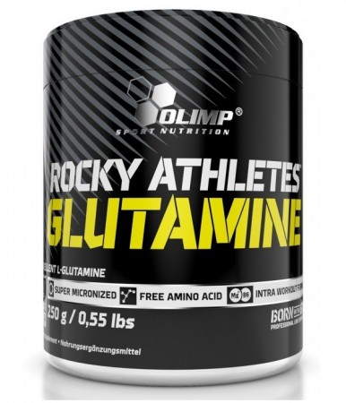 Olimp Rocky Athletes Glutamine Powder 250g - Aminosyrer