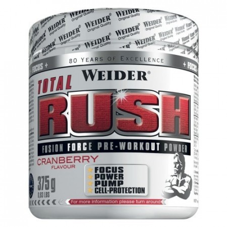 TOTAL RUSH PWO 375G CRANBERRY