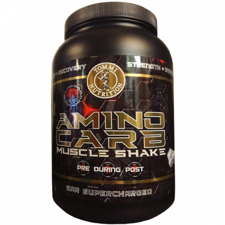 Aminocarb Muscle Shake 1500g Natural flavor