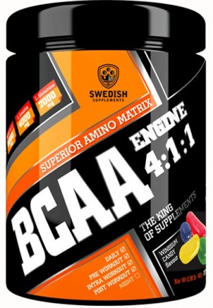 BCAA Engine 4:1:1 400g Winegum Candy