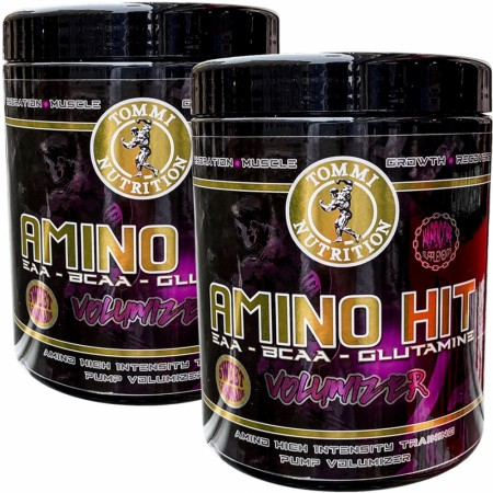 2 x Amino HIT Pump Volumizer Sweet Lemonade 400g