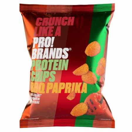 ProteinPro Chips BBQ Paprika - 50g