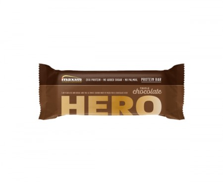 MAXIM PROTEINBAR TRIPLE CHOCOLATE HERO