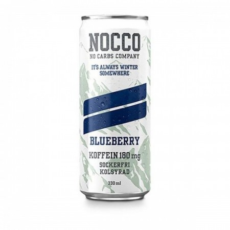 Nocco BCAA Blueberry Limited Edition - 330ml