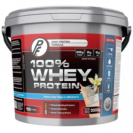 100 % Whey Protein 3000g Vanilla Dream