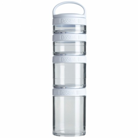 Blender Bottle GoStak, White