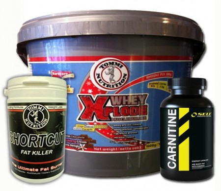 Muscle builder & Fat Burner Stack