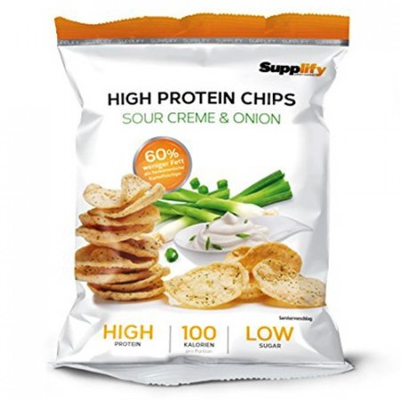 Protein Chips Sour Creme & Onion 50g