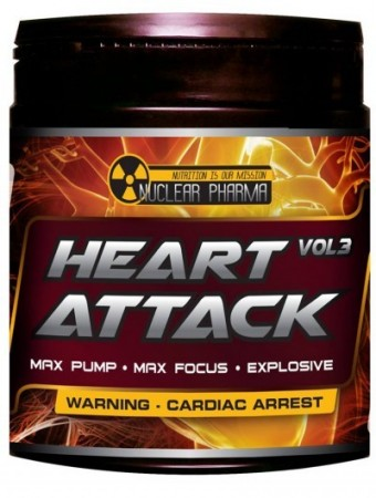 Nuclear Pharma Heart Attack Vol 3 Raspberry 300g