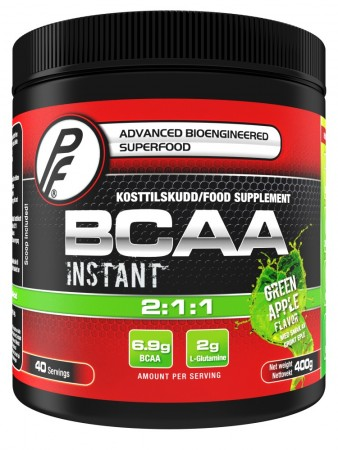 BCAA 2:1:1 400g Green Apple Proteinfabrikken