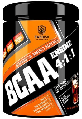 BCAA Engine 4:1:1 400g Sour Cola